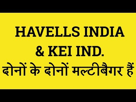 Havells India And KEI Ind Share  Multibagger Stock   Sensex Today  Nifty Today   Indian Stock Broker