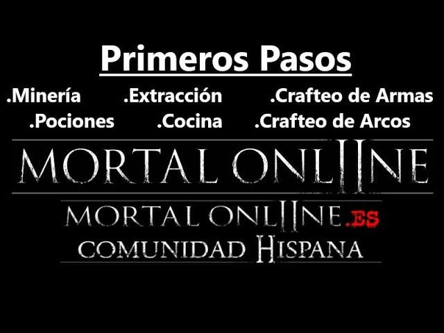 Mortal Online 2 Gameplay Español [ Primeros Pasos ]