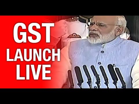 Download Youtube: GST Launch Event Live - GST Live Updates