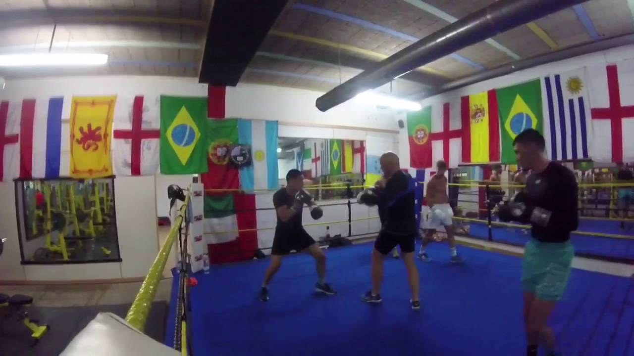 Boxing Science Support Ingle Gym Fuerteventura Camp - Boxing