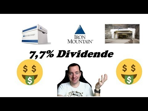 🗻 Iron Mountain - 8% Dividende 💵