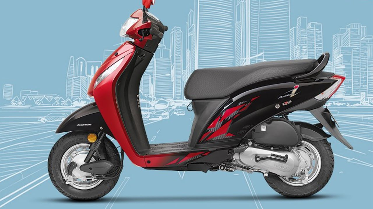 2017 Honda Activa I Bs-iv Launched - YouTube