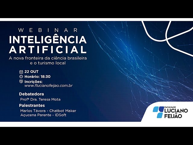 Webinar – Inteligência Artificial: A Nova Fronteira da Ciência Brasileira e o Turismo Local