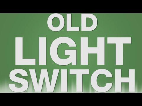 Old Light Switch SOUND EFFECT - Light Flip Switch Alter Lichtschalter SOUNDS
