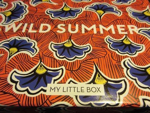 My Little WILD SUMMER Box I August 2017