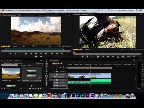 Agregar musica de fondo en tus videos en Premiere Pro CS6 (Muy facil y profesional)