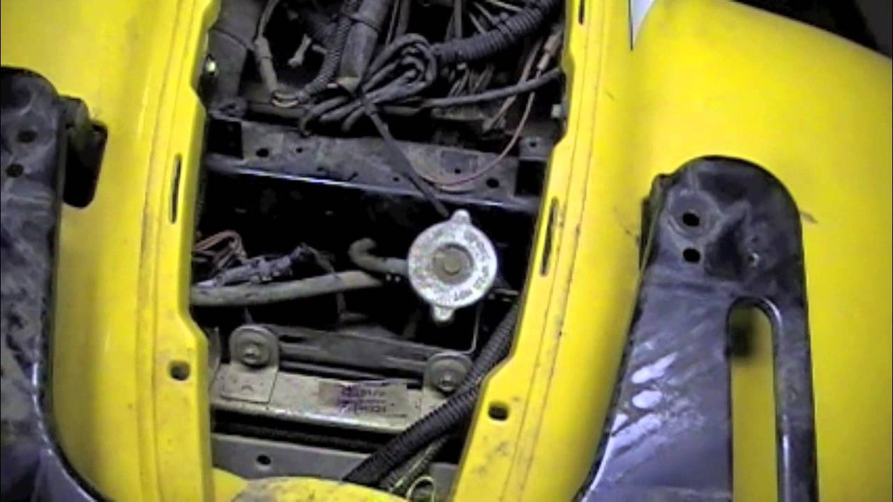 04 Sportsman 600 Radiator Removal And Installation Steps Youtube 2004 Polaris 500 6x6 Wiring Diagram