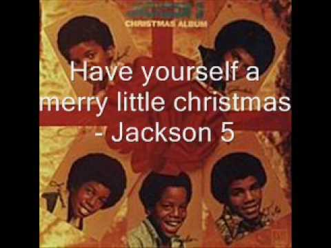 The Jackson 5 - Have Yourself A Merry Little Christmas K-POP Lyrics Song