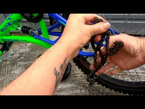How To Untangle A Bicycle Chain Youtube