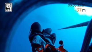 Gopro -100 meter deep alon rivkind Free dive israeli record