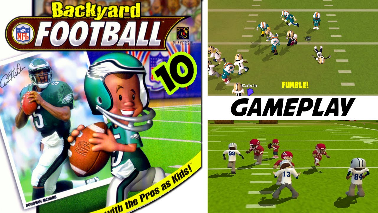 Backyard Football 2004 backyard football game | backyard ideas