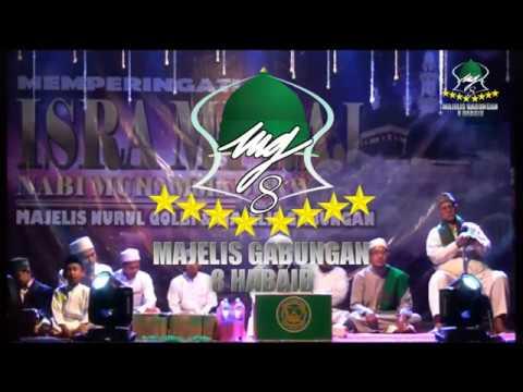 Majlis Gabungan Bersama Majlis Raudhatul Musthofa, Nurul Qolbi. 6 April 2019