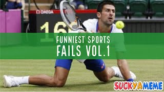 FUNNIEST SPORTS FAILS COMPILATION V1