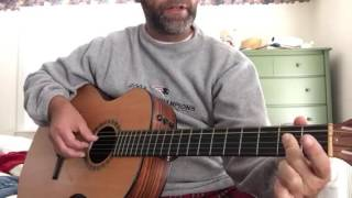 blues riff in a quick lesson finger position by finger position