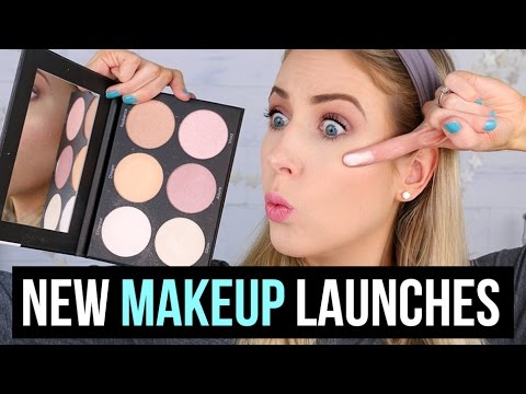 What's NEW at the Drugstore & Sephora: MAKEUP TRY-ON || 5 First Impressions (& SURPRISE!!)