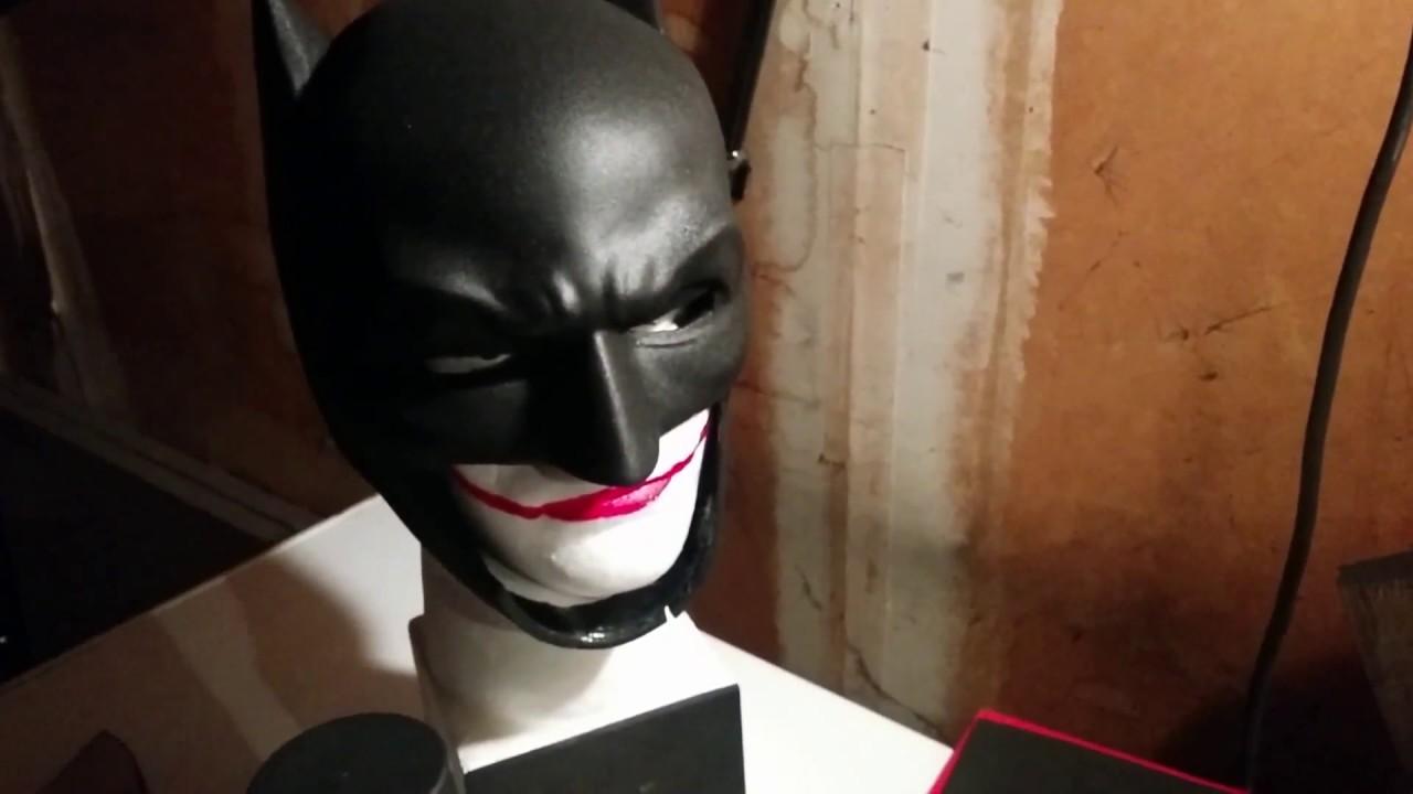 Batman Cowl Build Complete Parts 12 DIY Mask