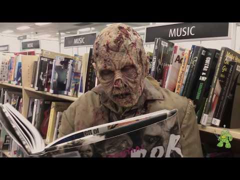 Walking Dead seen in Sydney - Prosthetic Makeup Demo