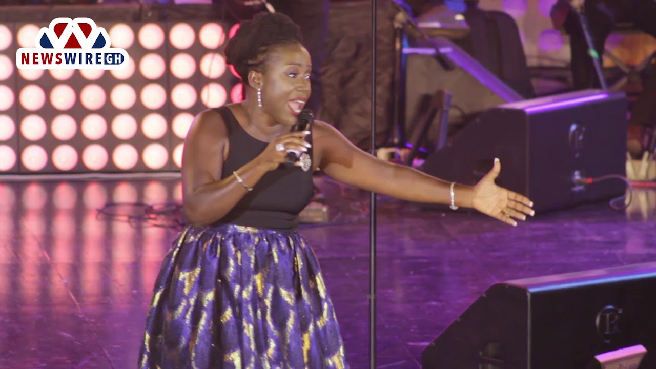 full video diana hamilton performs adom praiz concert youtube