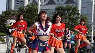セパ交流戦 読売ジャイアンツ2回戦 試合前ジャイアンツスクエア.