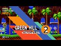 Sonic Mania Green Hill Zone Acts 1 and 2 PC Gameplay