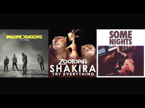 It's Every Night - Imagine Dragons vs. Shakira vs. fun. Mashup