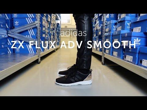 On Feet: adidas  ZX Flux Adv Smooth