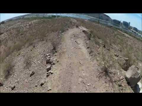 GoPro Mountain Biking - Loma Trail at Papago Park by Craig Haden