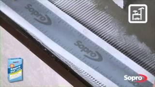 Wykonywanie tarasu i balkonu - system Sopro