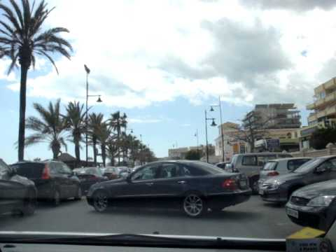 Driving along Torremolinos Waterfront #trafalgarinsider MOV01067