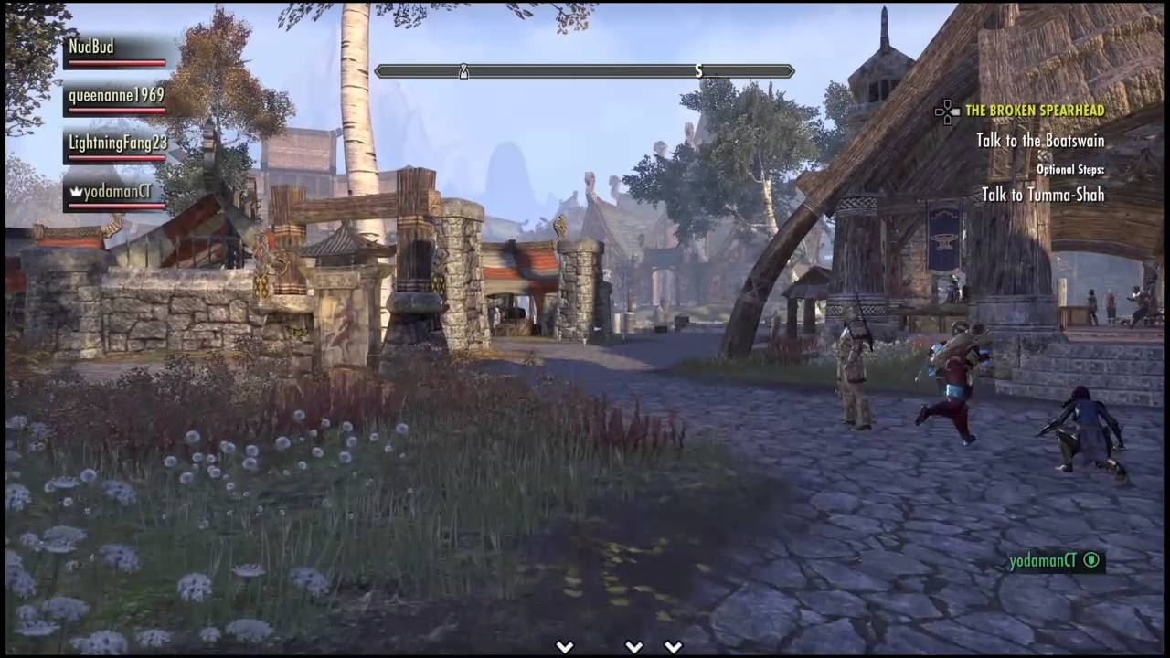 Eso Guild Tabard Group Travel To Campaign Youtube