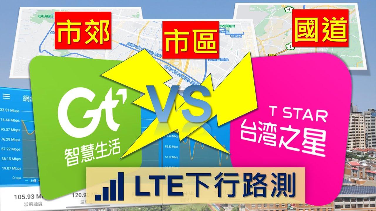 亞太電信 VS 台灣之星 三大場景LTE下行路測正面對決 [CC字幕]