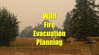 Wild Fire Evacuation Planning & Where is Our Dexter Family Milk Cow?