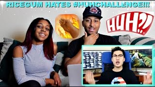 """""""THE HUH CHALLENGE MUST BE STOPPED!!!"""" By Ricegum Reaction!!!"""
