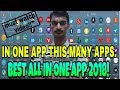 BEST ALL IN ONE APP FOR ANDROID|2018|(In Telugu).