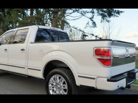 2012 Ford F-150 Platinum 4X4 TV Head Rest Loaded for sale in Milwaukie, OR