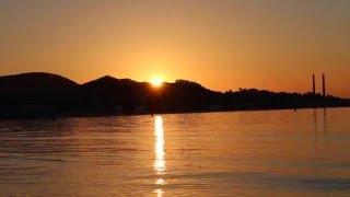 Alcudia Beach, Breathtaking Sunrise, Mallorca, Spain/Майорка,Испания
