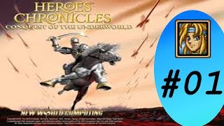 Let's play Heroes Chronicles : Conquest of the Underworld [01] CG 1