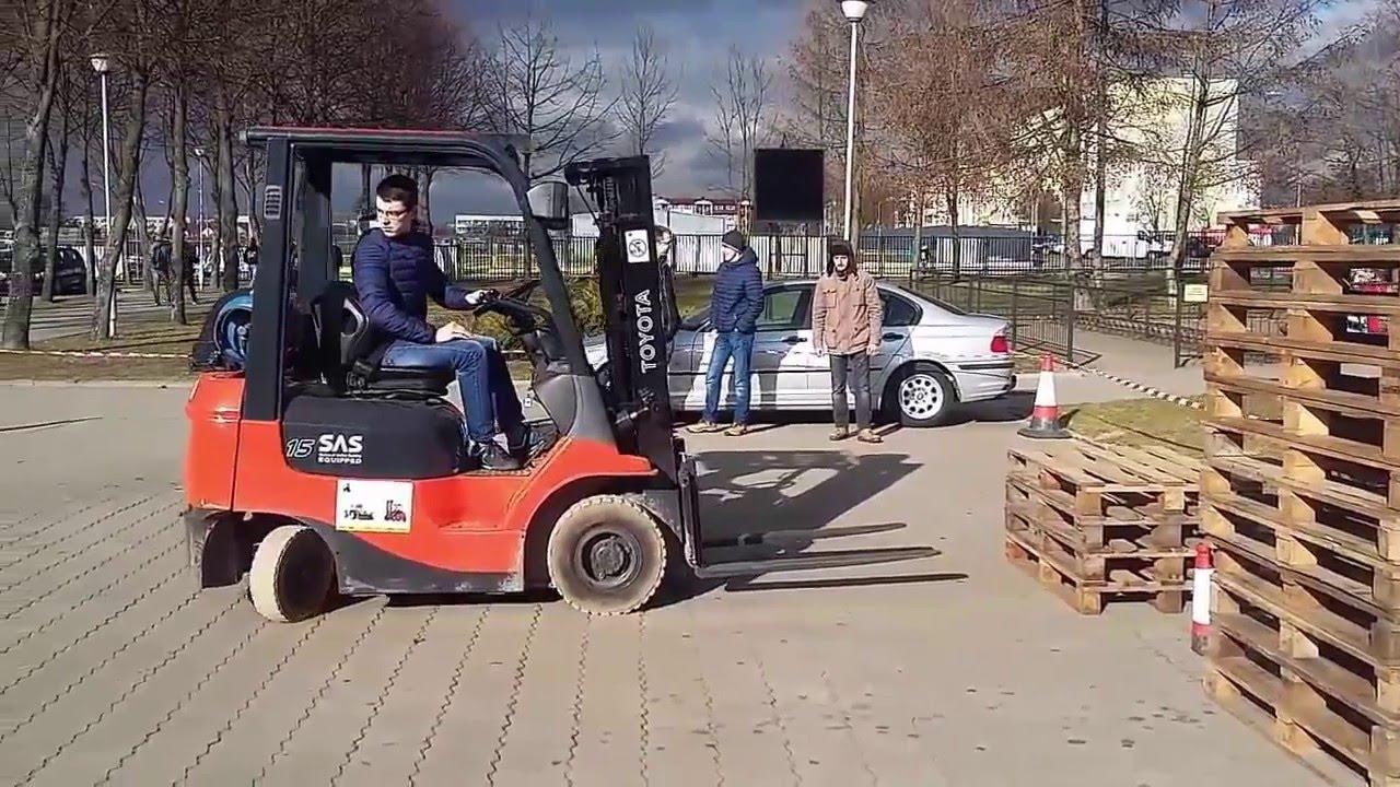 Super Kurs operatorów wózków widłowych - YouTube QL82