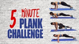 5-Minute PLANK Challenge | Strong Abs & Core | Joanna Soh