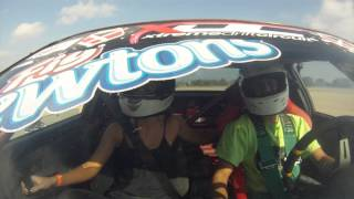 UpShift Drift/Grip Event - TexasimportsToday - Her First Drift! Fin...