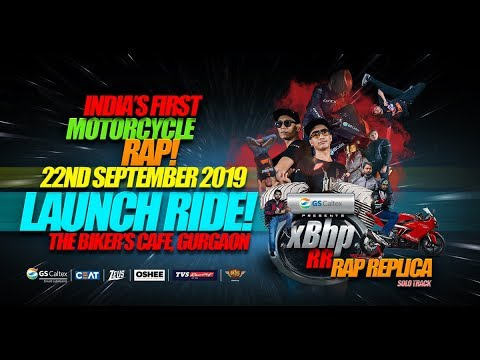 Launch Ride Of XBhpRR :: India's First Motorcycle Rap Music Song!