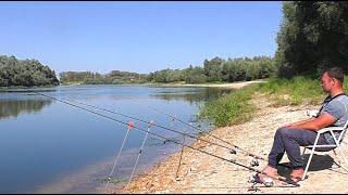 Какую ОСНАСТКУ выберет ЛЕЩ Рыбалка на ДОНКИ на закате лета ДОНКИ на ЛЕЩА