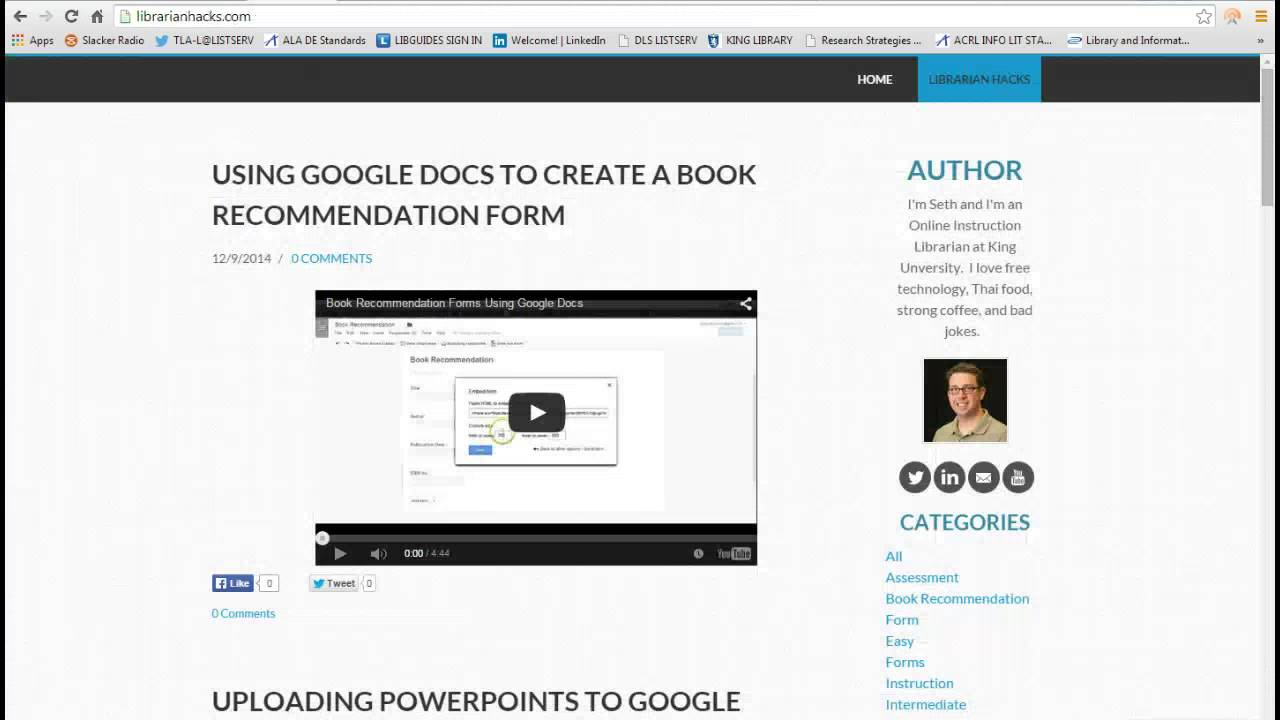create your own online library catalog youtube