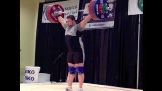 Pat Mendes @ 2012 Senior Nationals