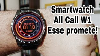 Esse SMARTWATCH promete!!! Unboxing ALL CALL W1!!