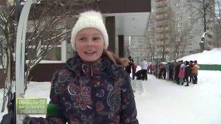 Ученики школы №1 поборолись за звания самого лучшего в ежегодной зимней лыжне.