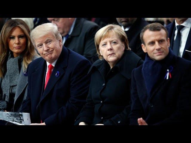 Macron Tries to Defend Globalism as Nationalism Rises!!!