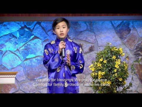 Blessings by Laura Story. Sung by Trường Đạt Phạm. HT Tin Lành Orange.
