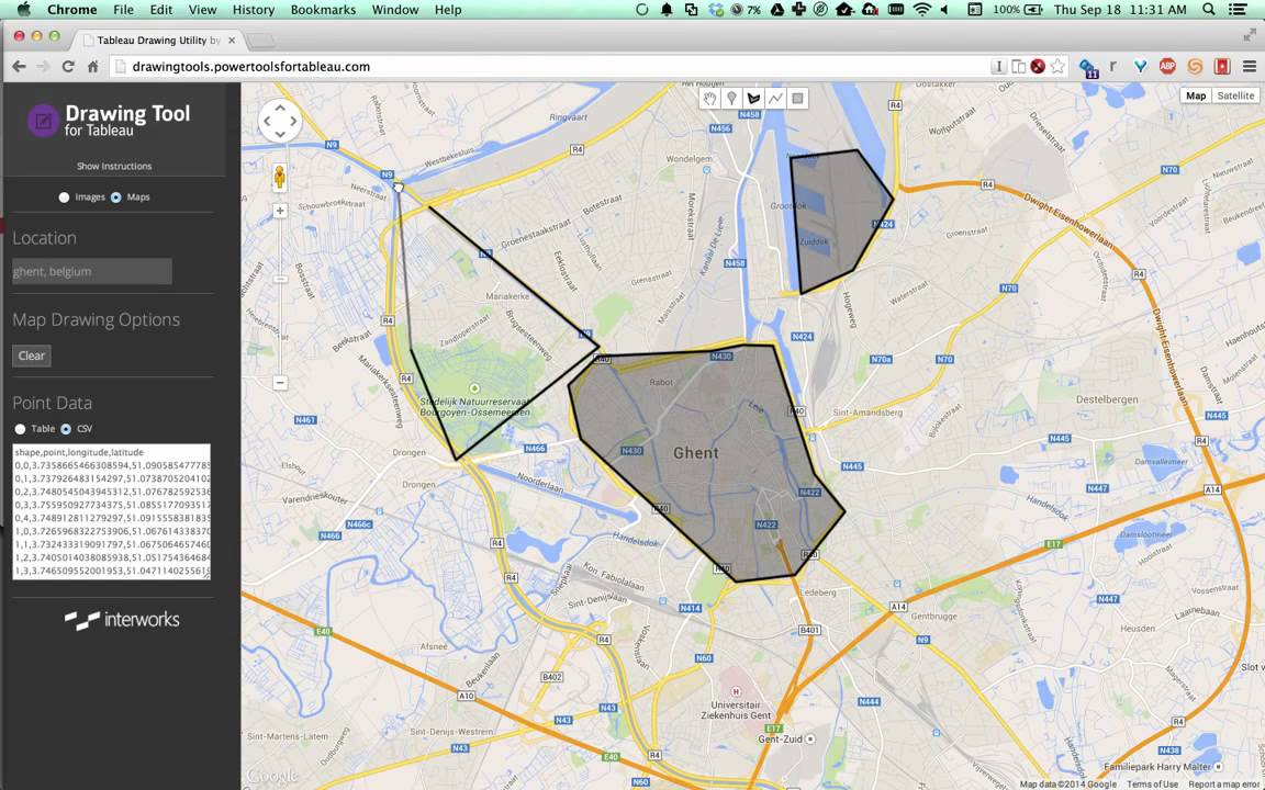 How to Create Custom Polygons for Tableau Using Drawing Tool