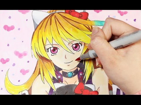 Speed Drawing: Hello Kitty Crossover X Tales Of Xillia Milla Maxwell And Jude Mathis Plush Doll